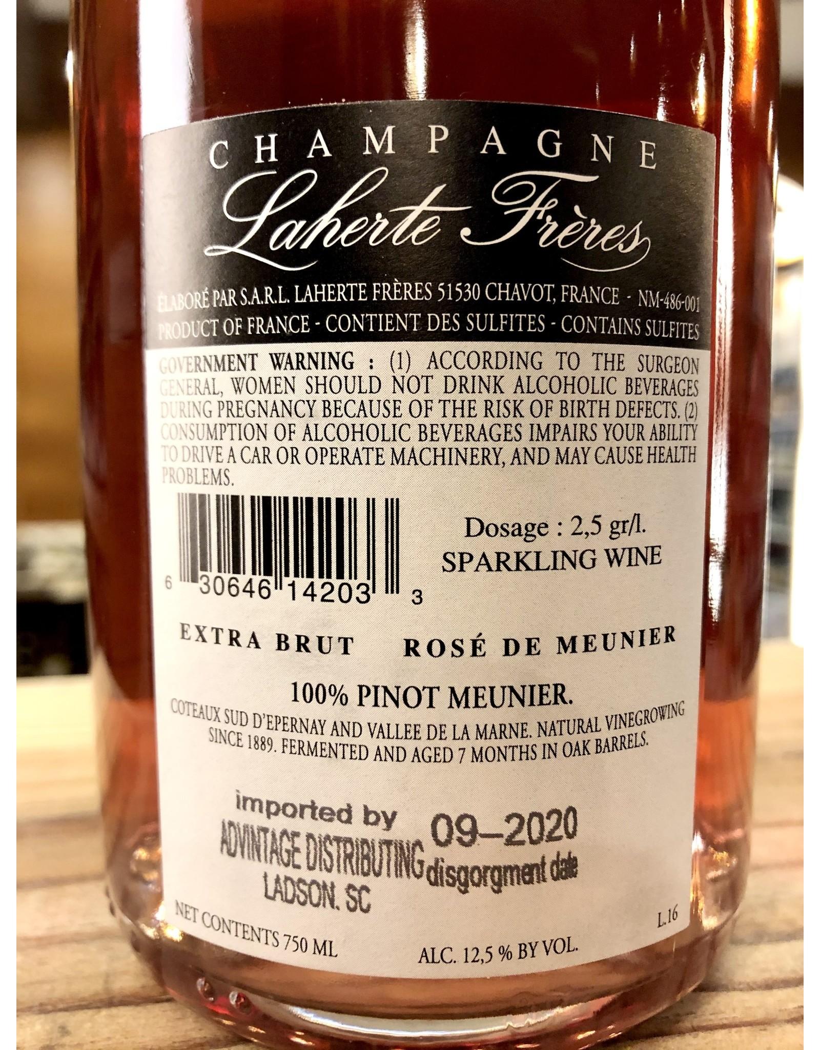 Laherte-Freres Rose de Meunier Extra Brut Champagne - 750 ML