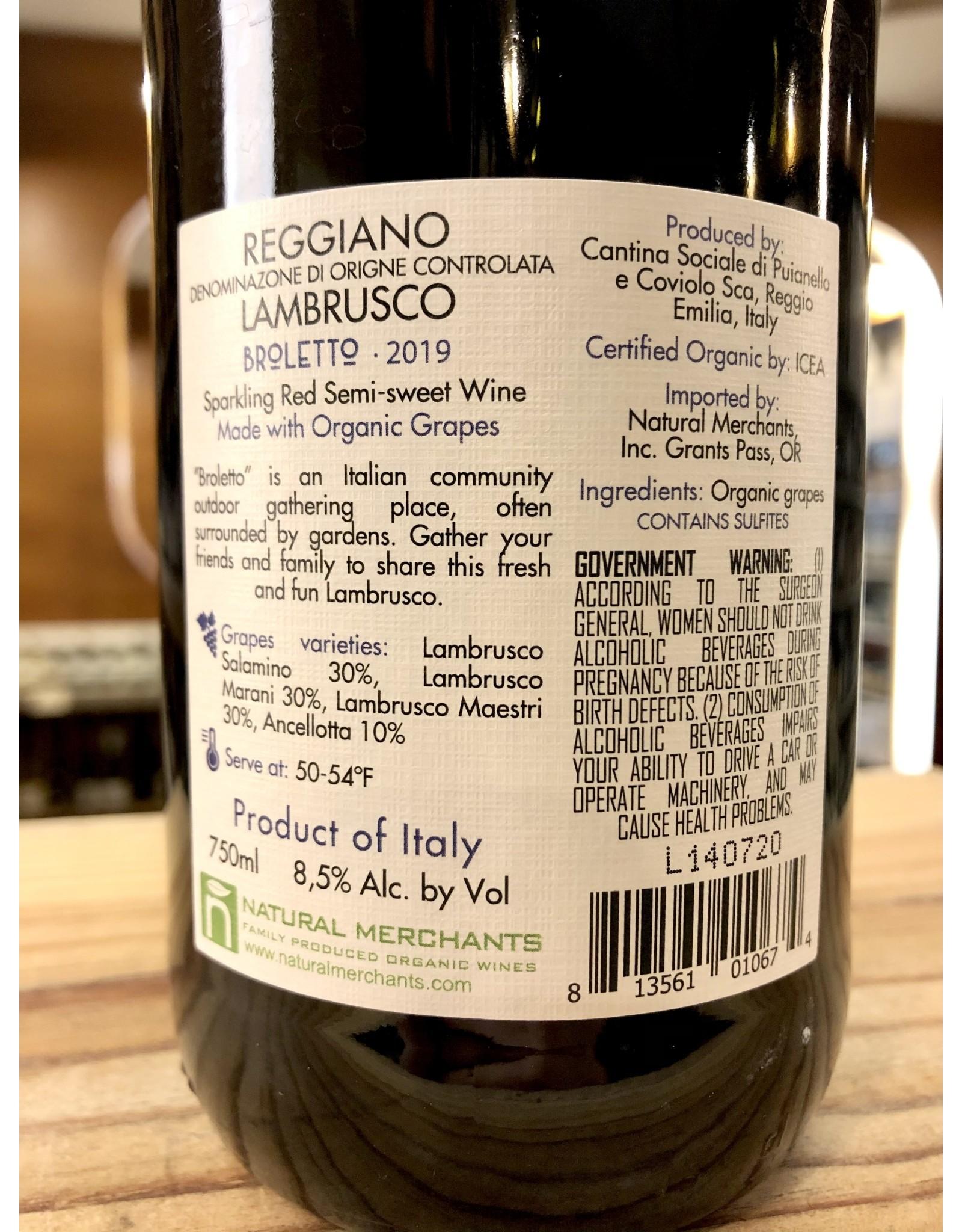 Broletto Semi-sweet Reggiano Lambrusco - 750 ML