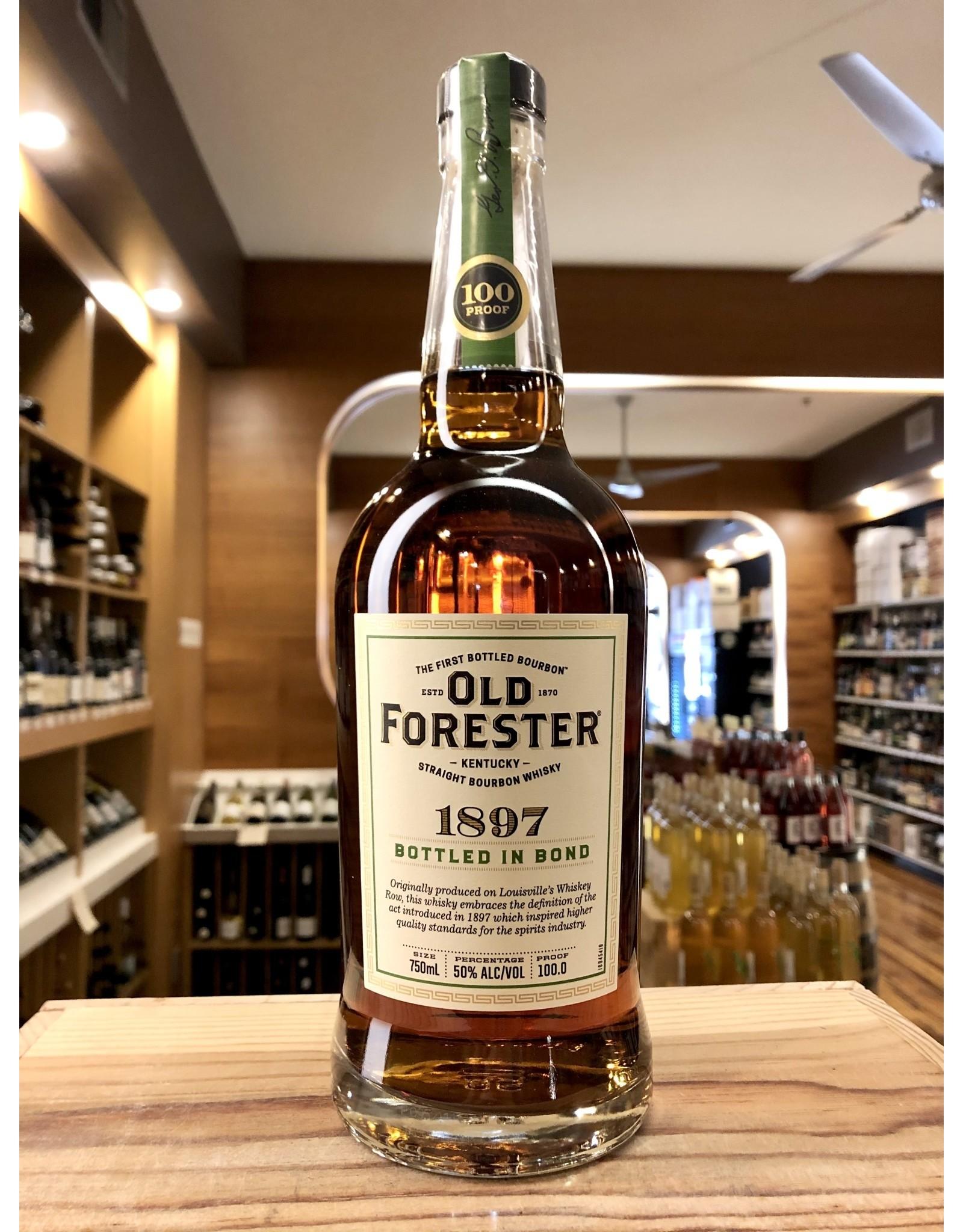 Old Forester 1897 Bottled in Bond Bourbon - 750 ML