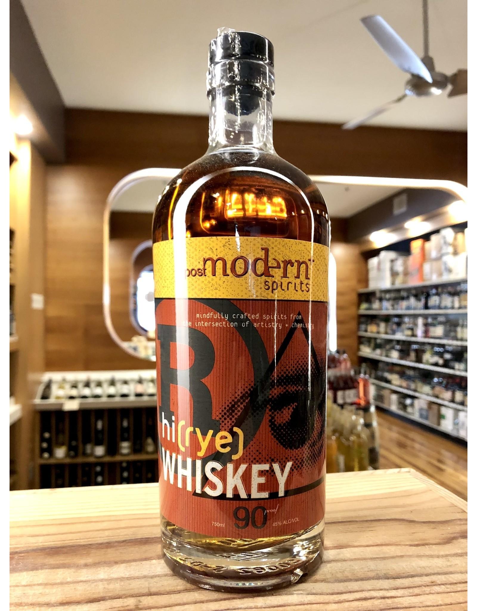 Post Modern Hi Rye Whiskey - 750 ML