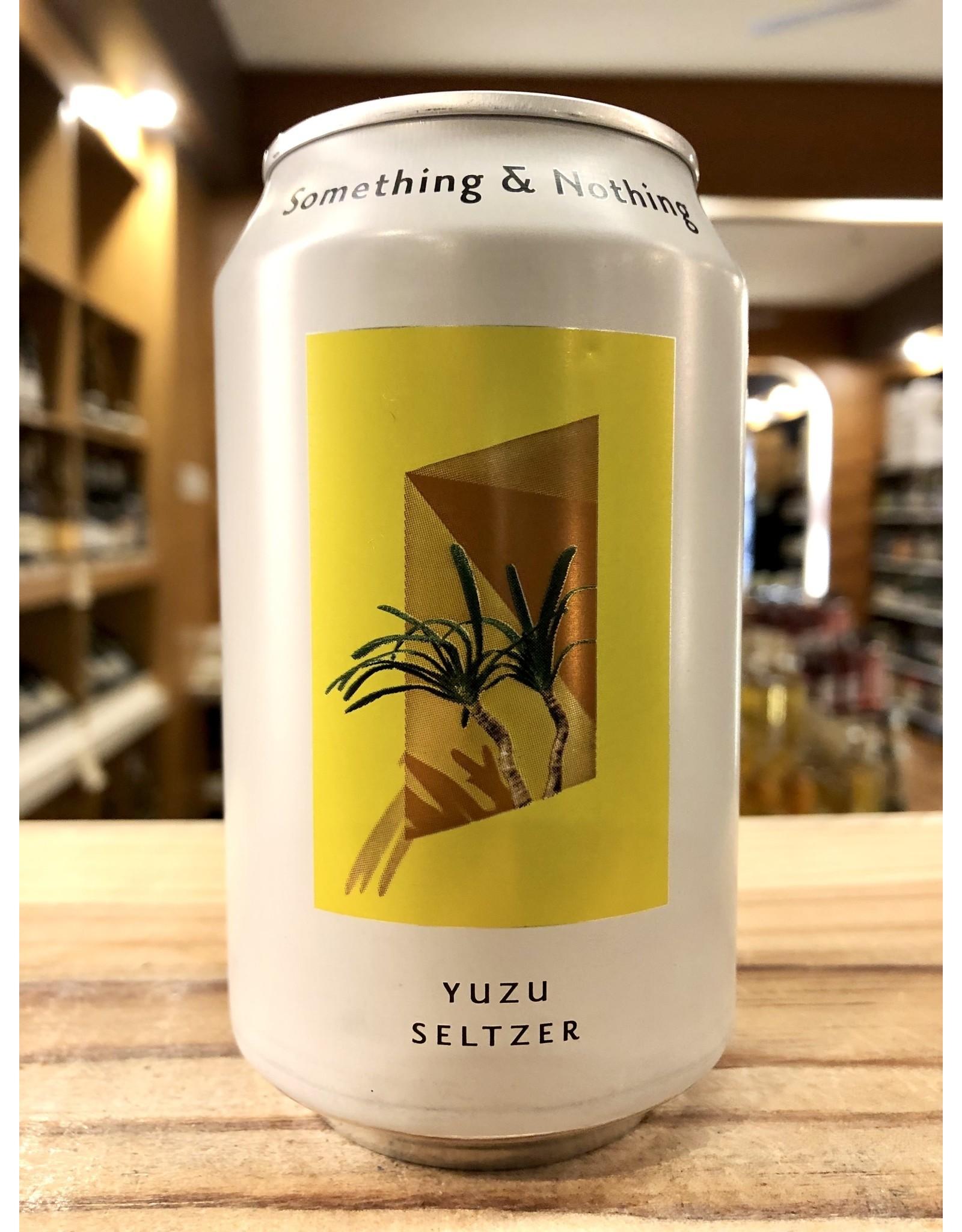 Something & Nothing Yuzu Seltzer 12 oz.