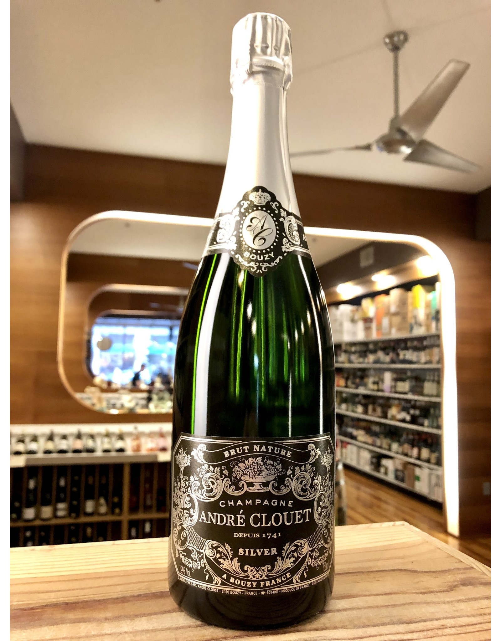Andre Clouet Silver Brut Nature Champagne - 750 ML