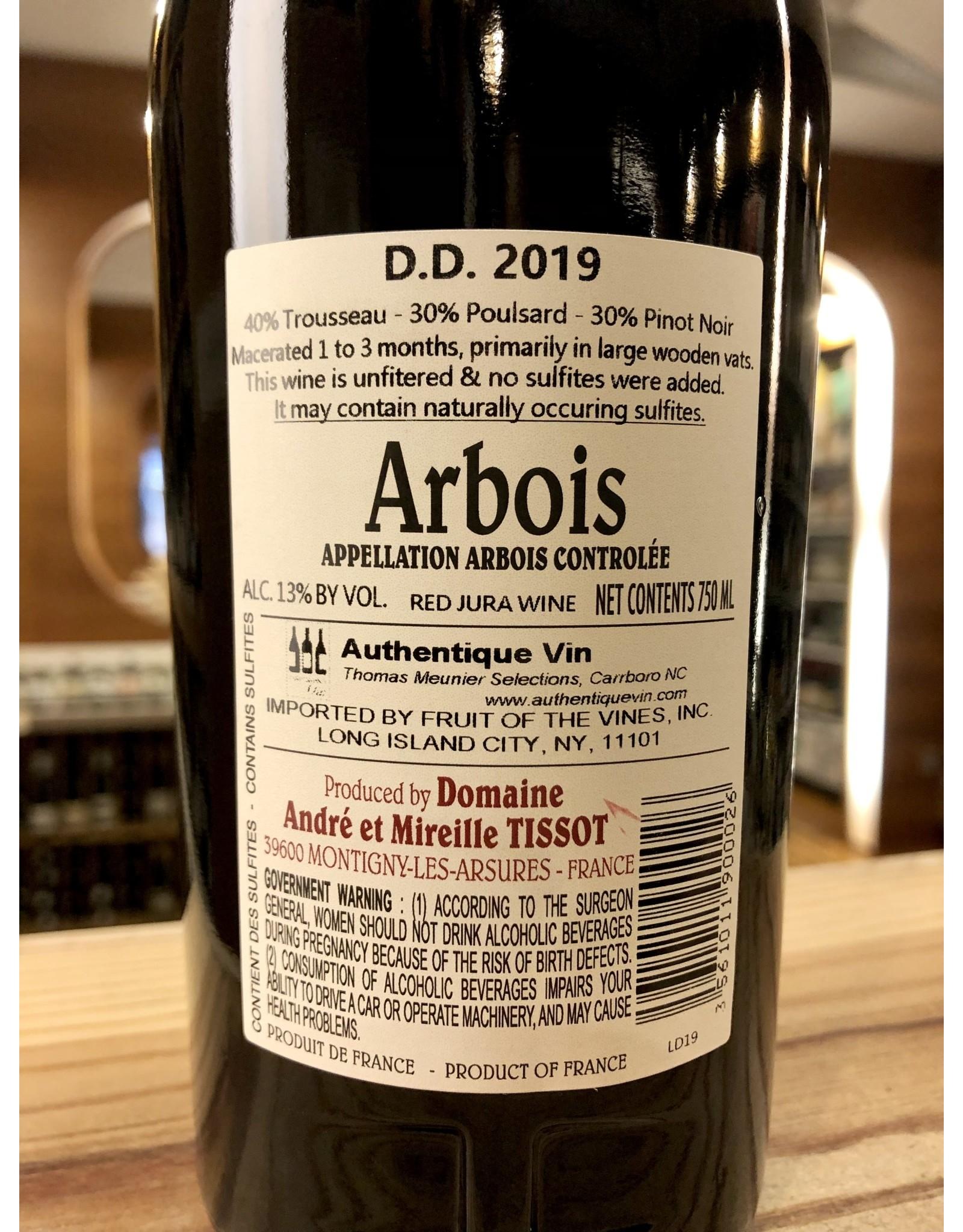 Tissot Arbois Rouge DD - 750 ML