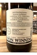 von Winning Riesling Trocken 2019 - 750 ML