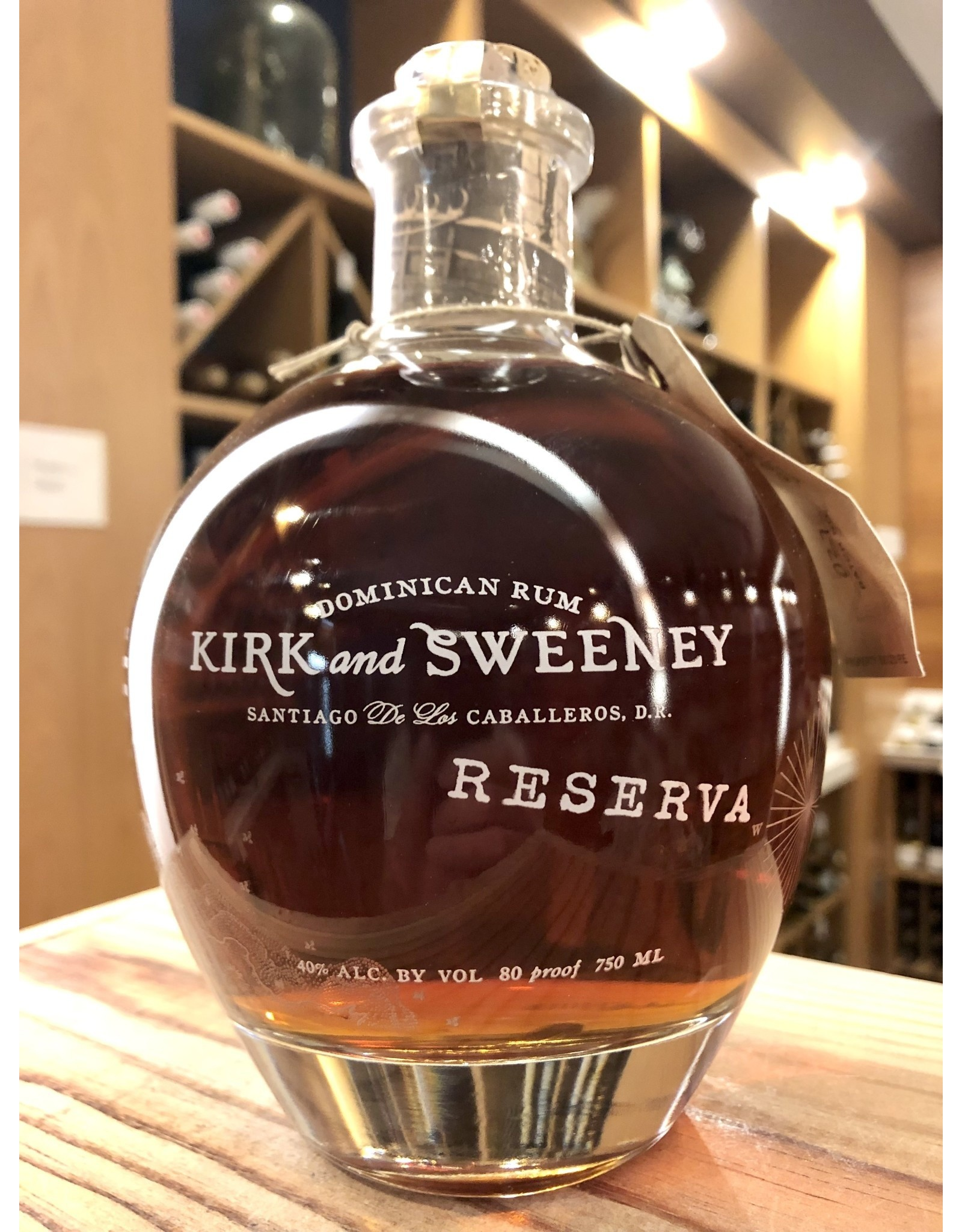 Kirk & Sweeney Reserva Rum - 750 ML