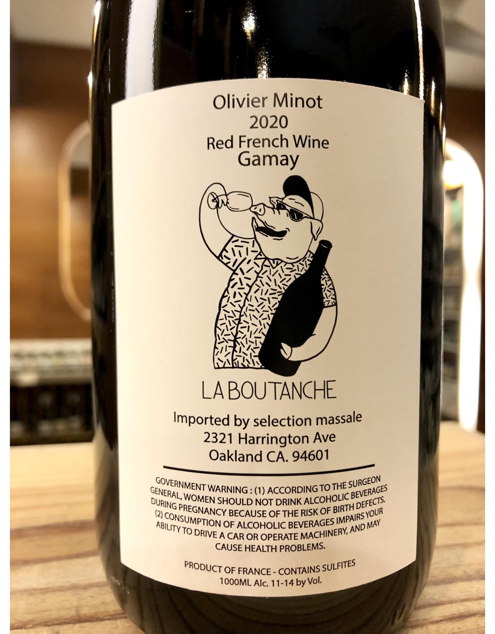 Olivier Minot La Boutanche Gamay - 1 Liter