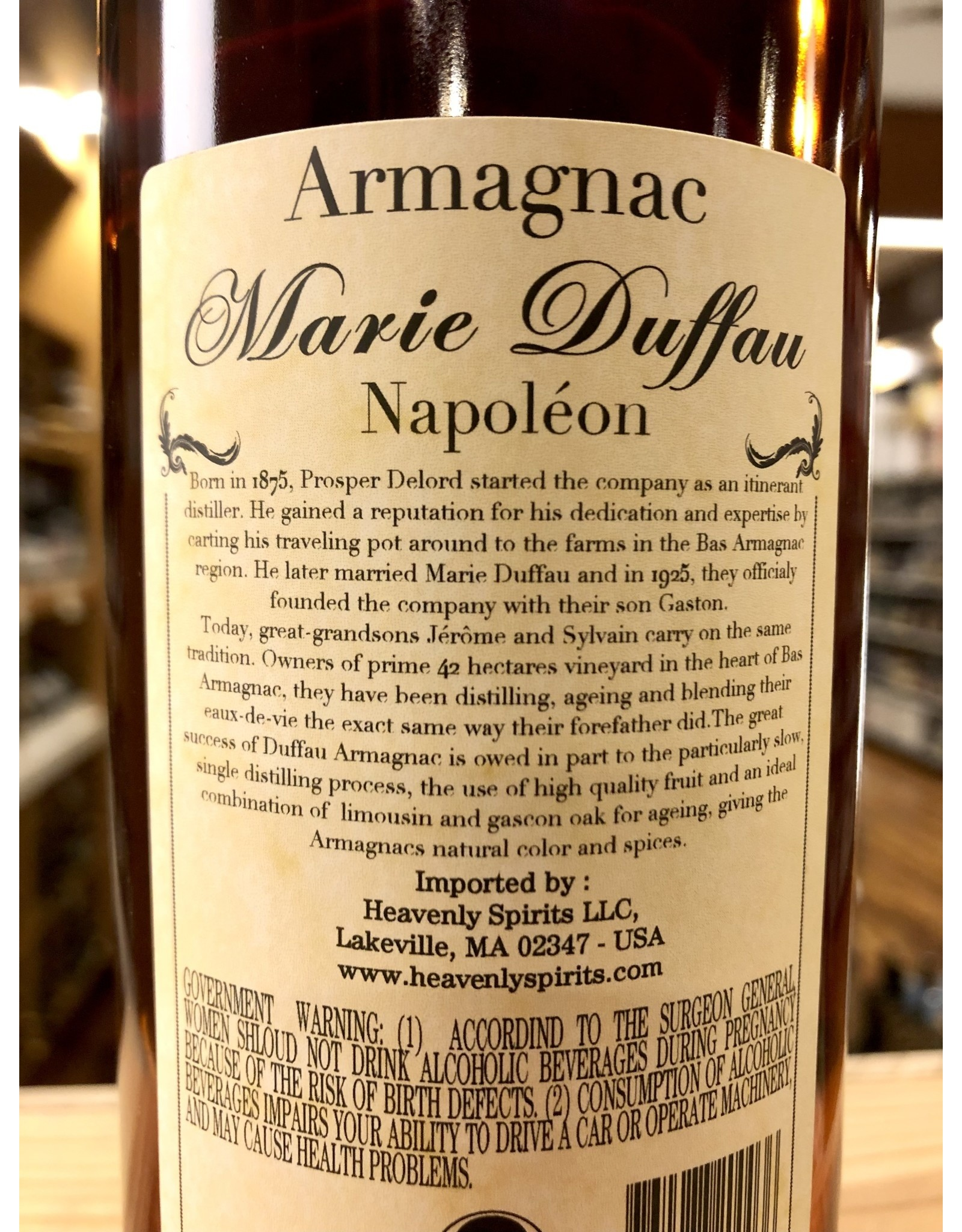 Marie Duffau Bas Armagnac Napoleon - 750 ML