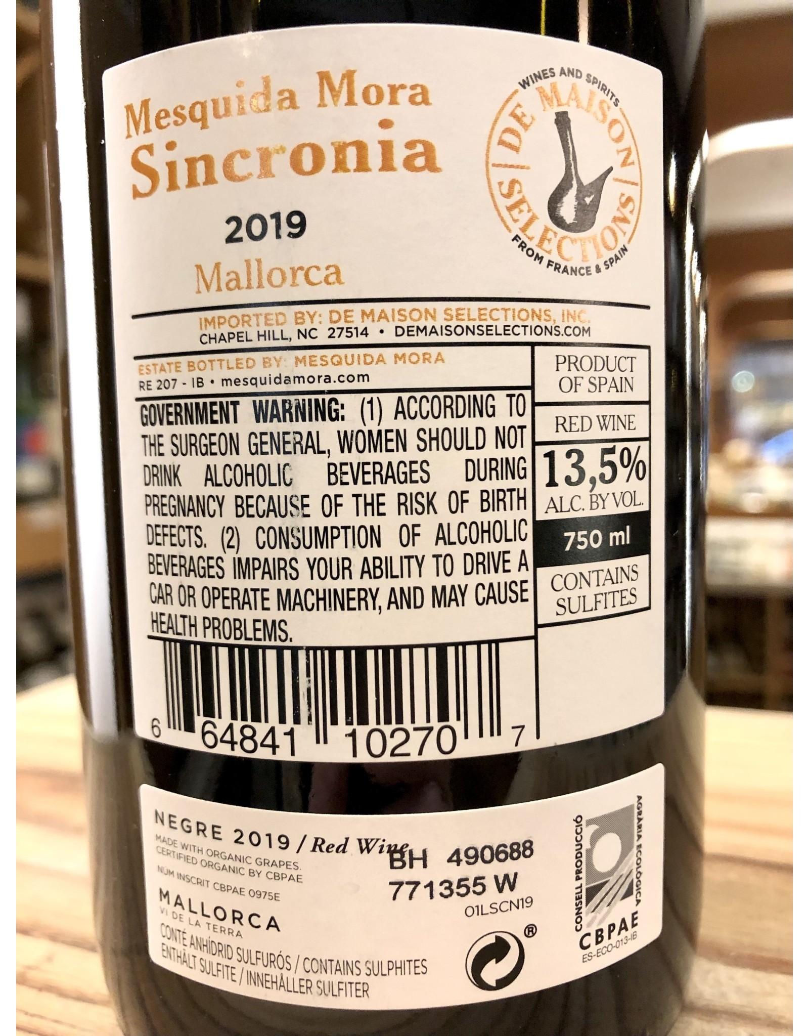 Mesquida Mora Sincronia Negre - 750 ML
