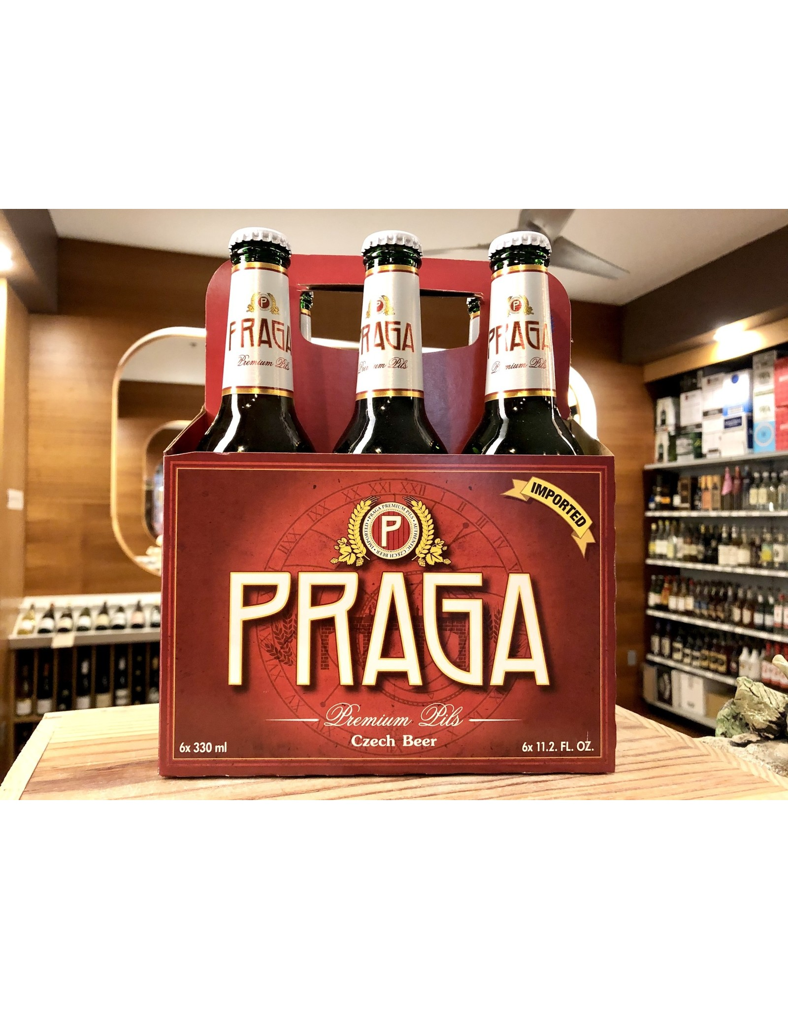 Praga Czech Pilsner - 6x12 oz.