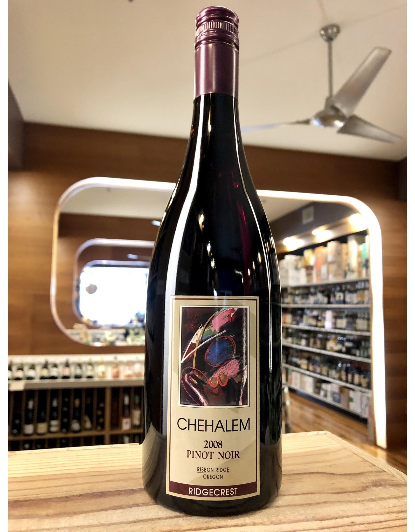 Chehalem Ridgecrest Pinot Noir 2008 - 750 ML