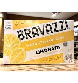Bravazzi Limonata Hard Italian Soda - 6x12 oz.