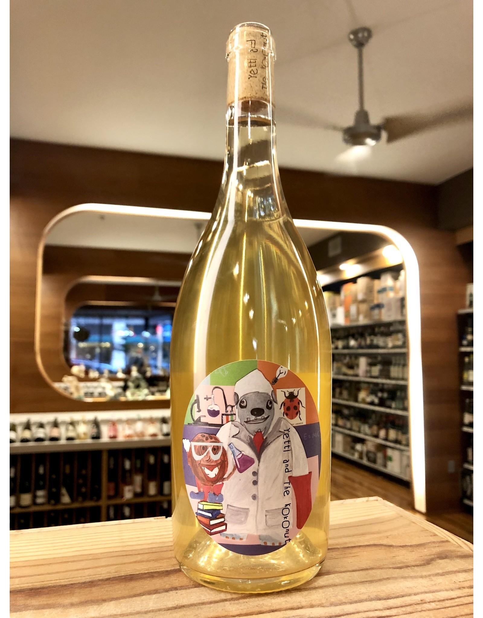 Yetti and the Kokonut Project White Wine - 750 ML