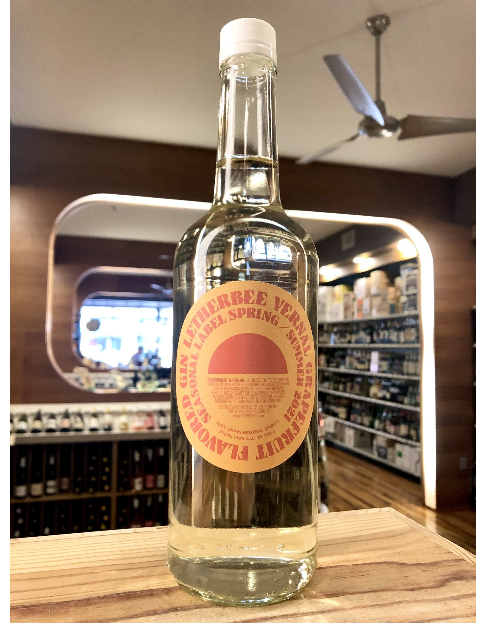 Letherbee Grapefruit Gin - 750 ML