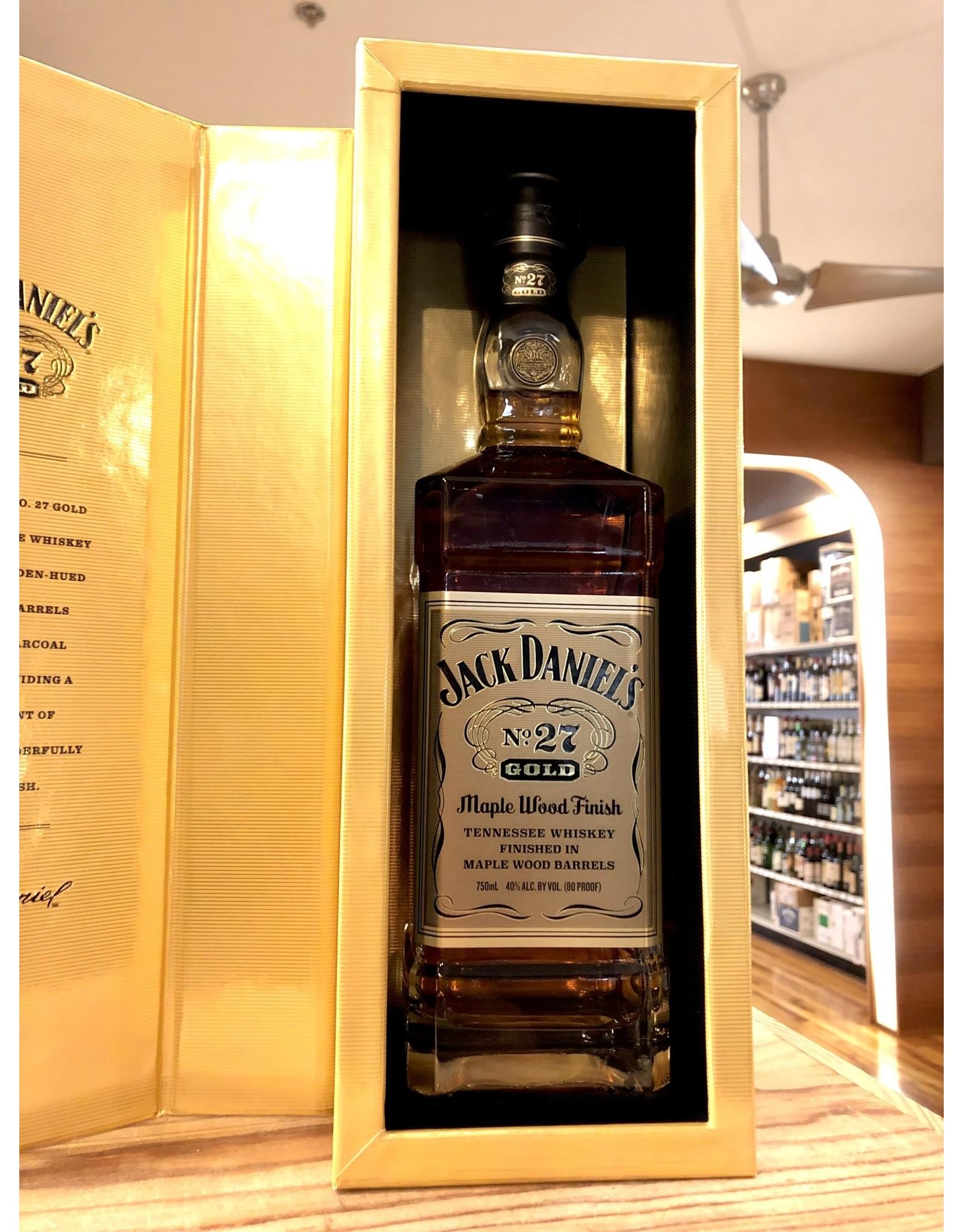Jack Daniels Gold Maple Wood Finish Whiskey - 750 ML