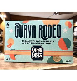Oskar Blues Guava Rodeo Sour Ale - 6x12 oz.