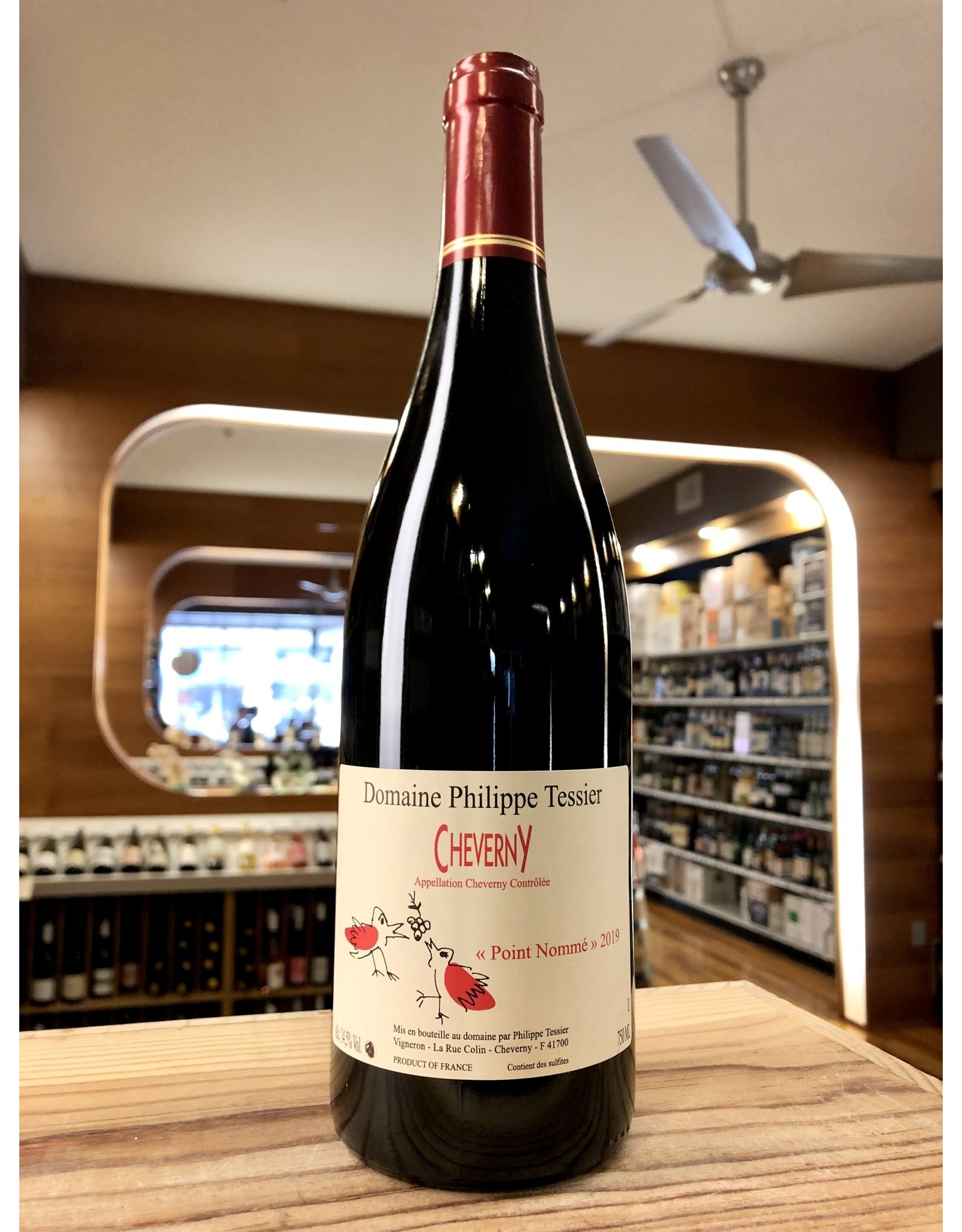 Philippe Tessier Point Nomme Cheverny Rouge - 750 ML