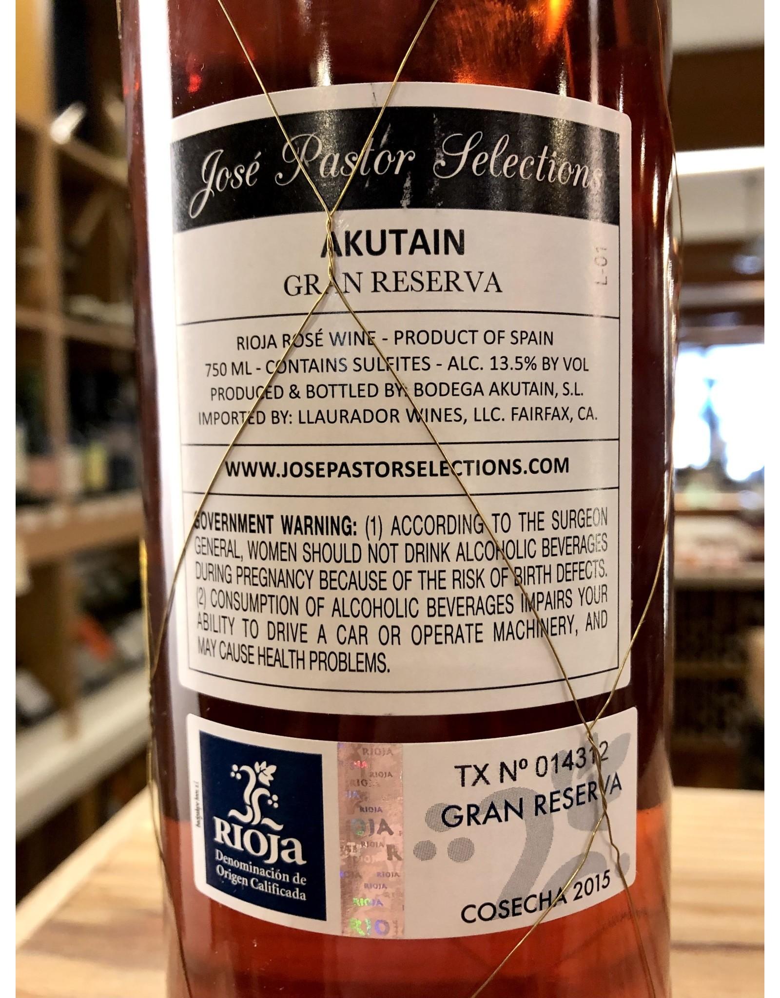 Akutain Rioja Gran Reserva Rosado 2015 - 750 ML