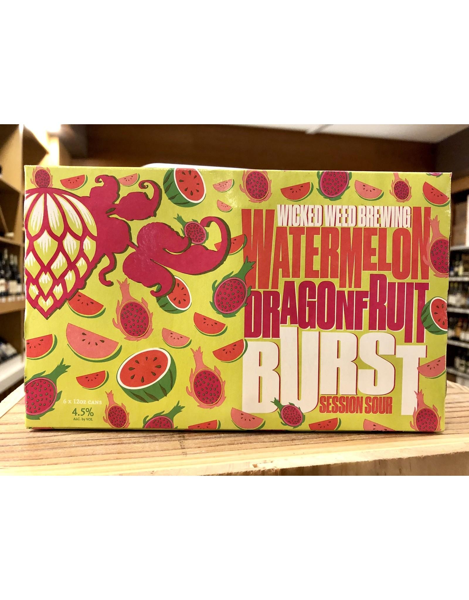 Wicked Weed Watermelon Dragonfruit Burst Sour - 6x12 oz.