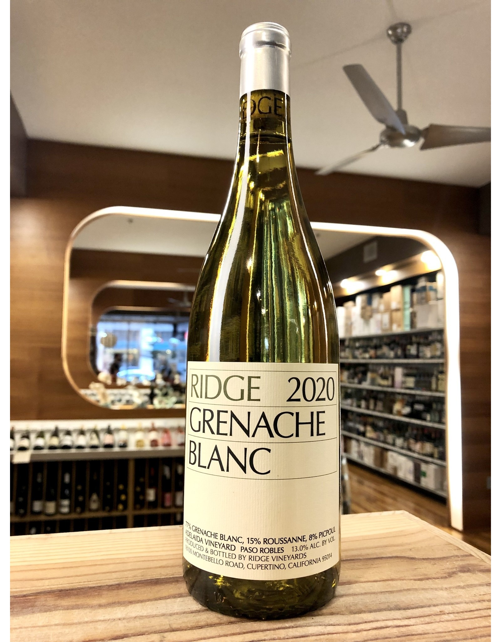Ridge Grenache Blanc - 750 ML