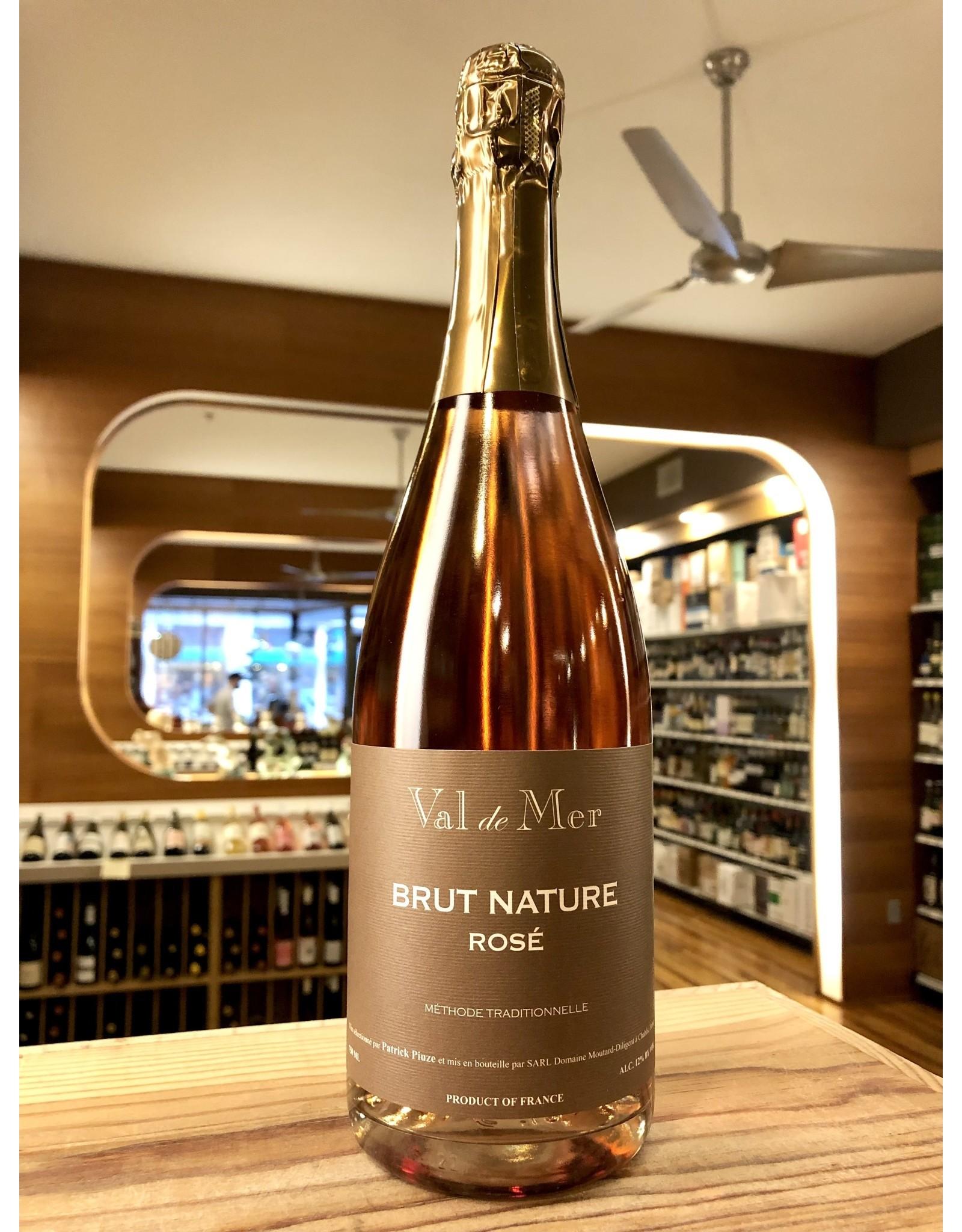 Patrick Piuze Val de Mer Brut Nature Rose Sparkling - 750 ML
