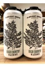Albright Grove High Country Saison - 4x16 oz.