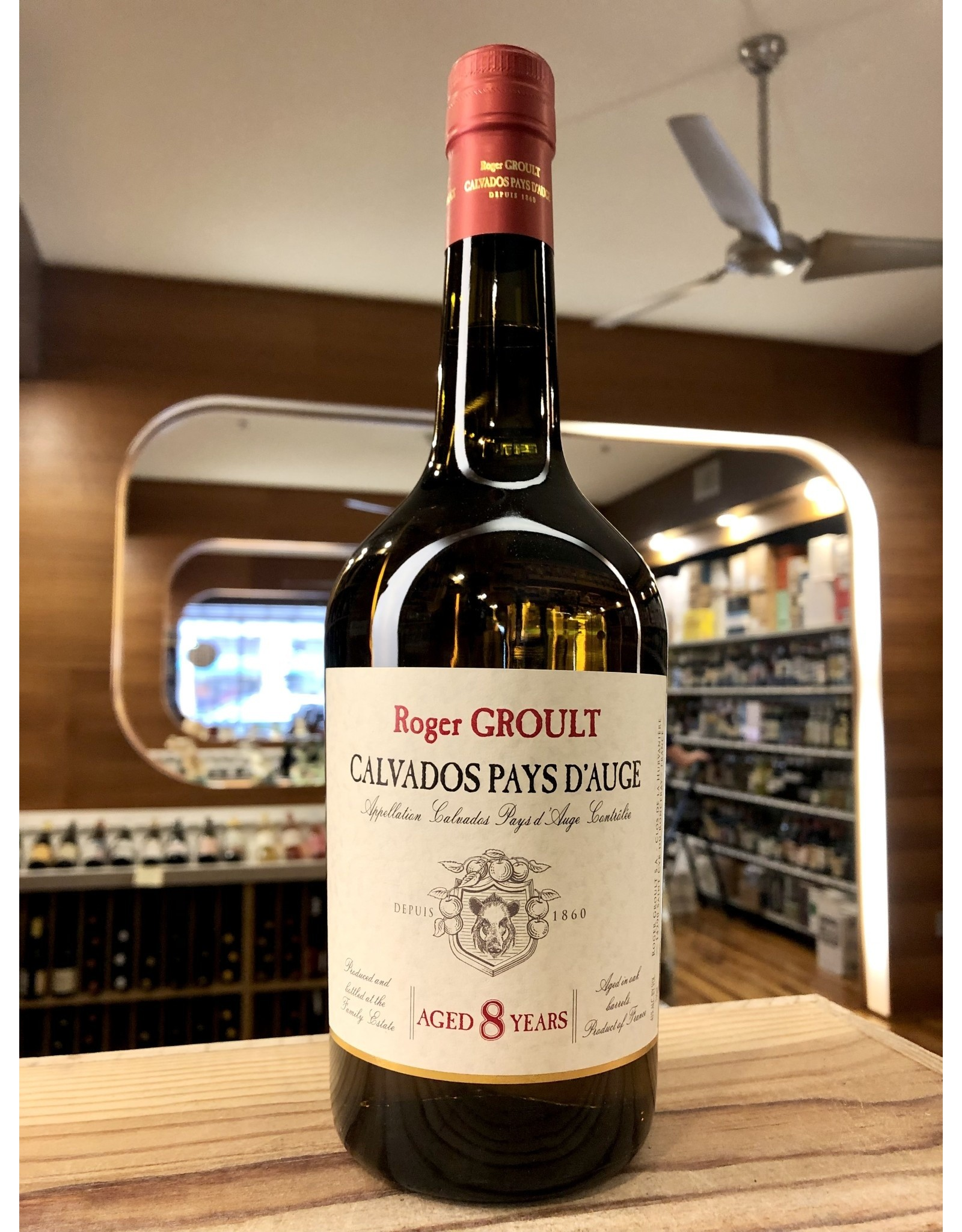 Roger Groult 8 Year Calvados Pays d'Auge - 750 ML