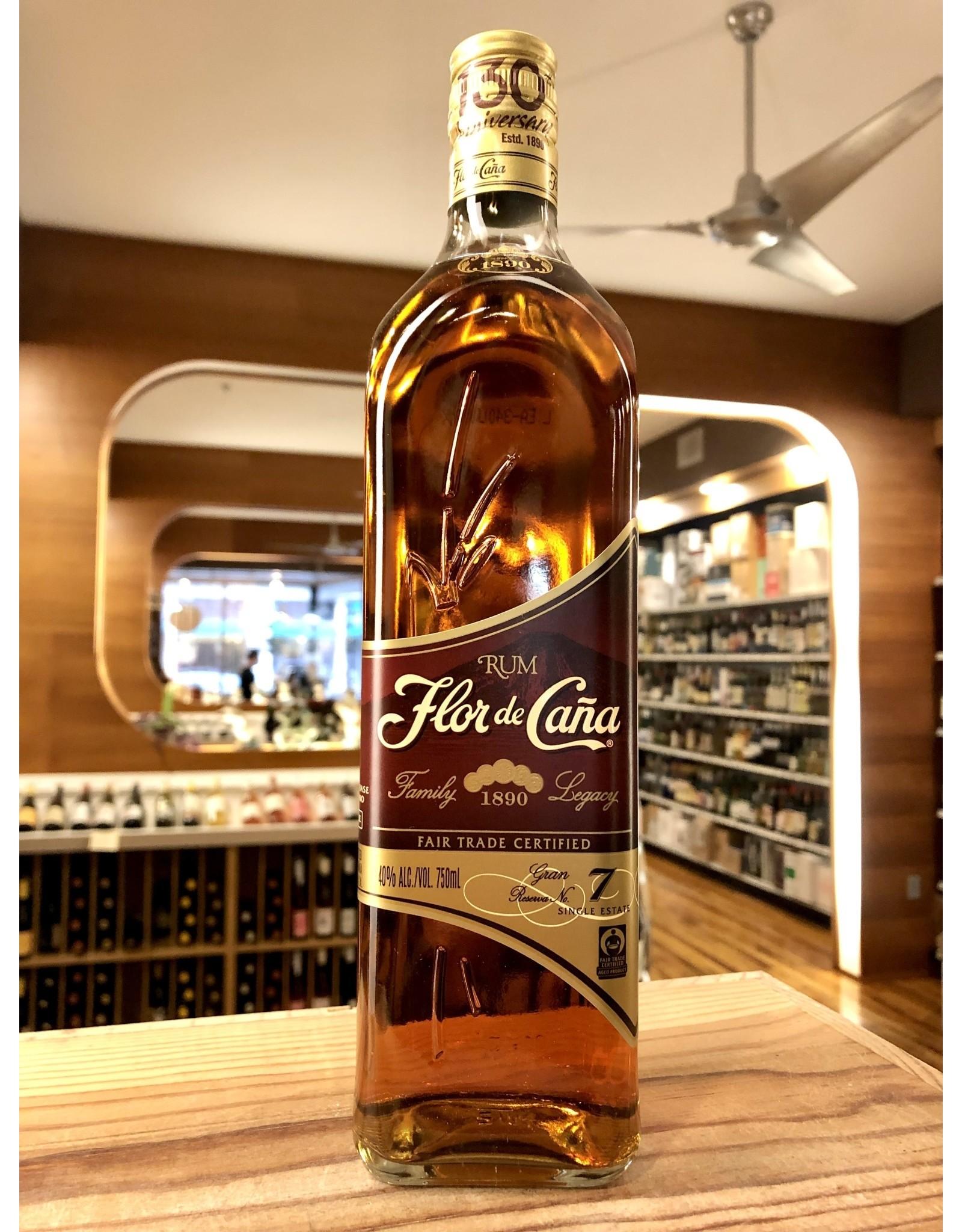 Flor de Cana 7 Year Rum - 750 ML
