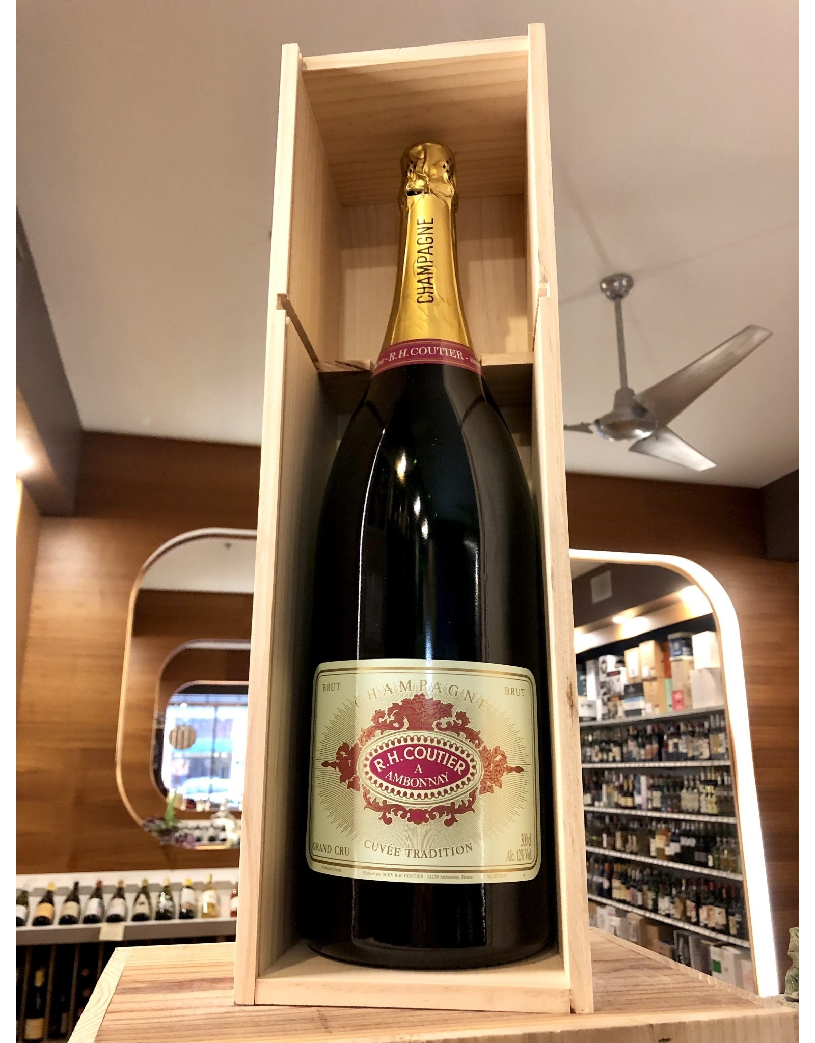 RH Coutier Grand Cru Brut Tradition Champagne JEROBOAM - 3 Liter