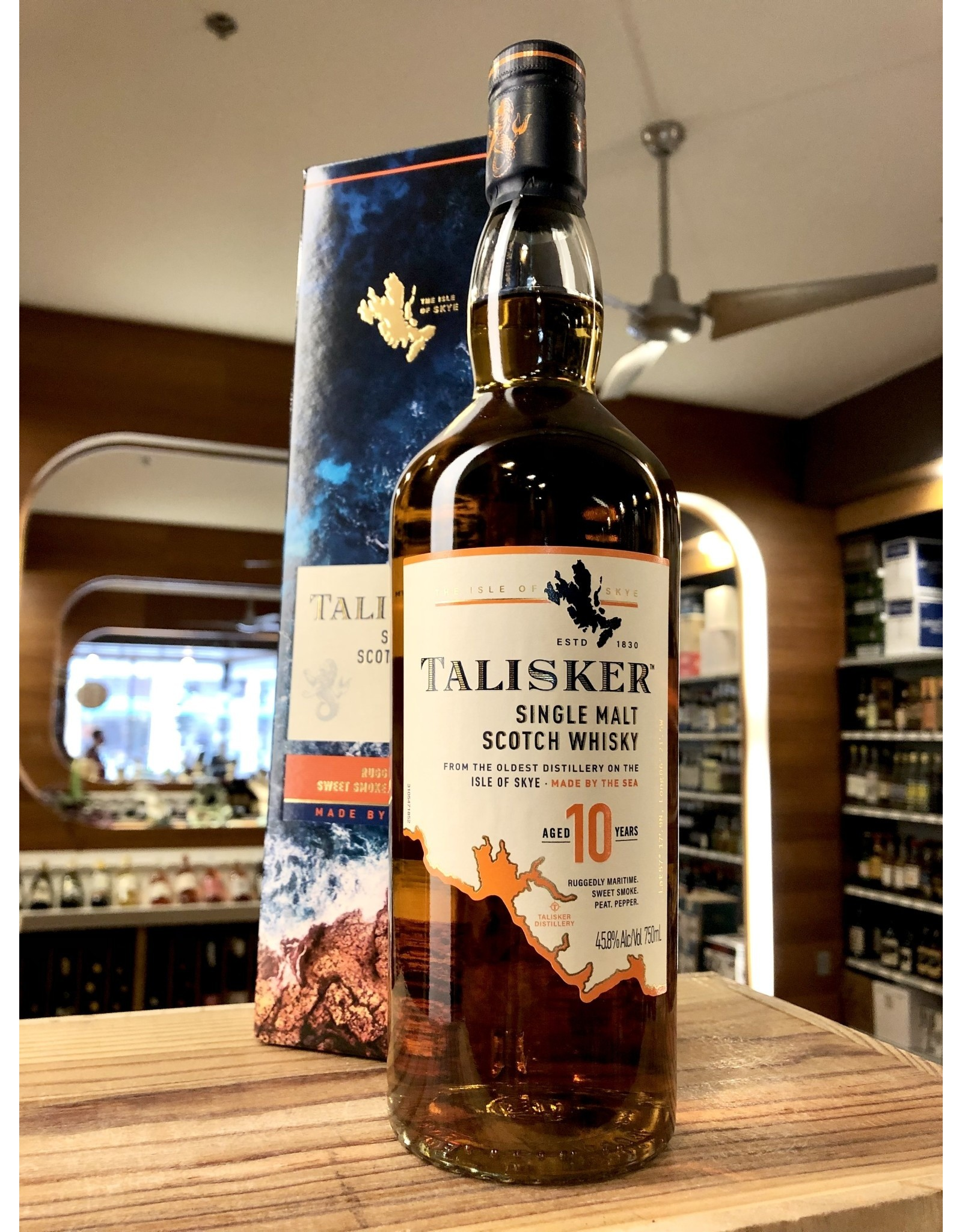 Talisker 10 Year Scotch - 750 ML