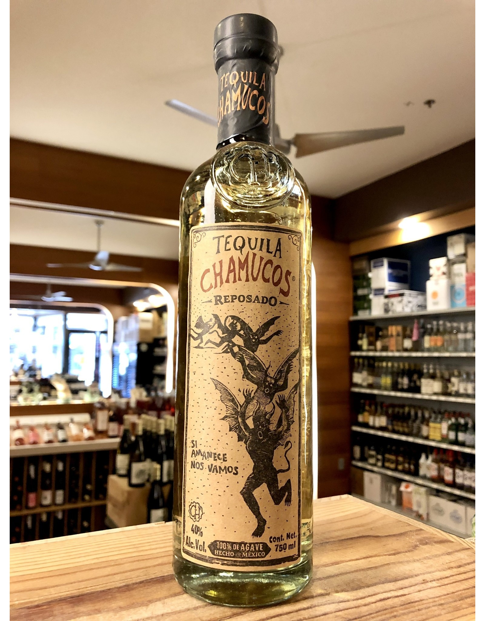 Chamucos Reposado Tequila - 750 ML