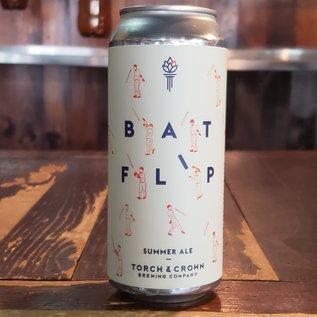 Torch & Crown Brewing Company Bat Flip Summer Ale, 5.2% ABV, 16oz Can