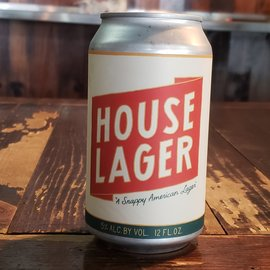 Twelve Percent House Lager, 5% ABV, 12oz Can
