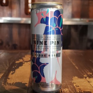 Nine Pin Cider Nine Pin Cidre Rose, 6.9% ABV, 12oz Can