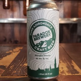 Paradox Brewery Paradox Pilsner, 5% ABV, 16oz Can