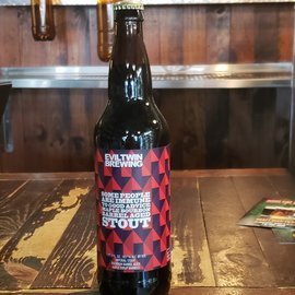 Evil Twin Brewing Some People Are Immune To Good Advice Maple Bourbon Barrel Aged Imperial Stout, 10.7% ABV, 22oz Bottle