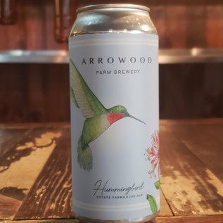 Arrowood Farms Hummingbird 5.4% ABV Farmhouse Ale 16oz Can