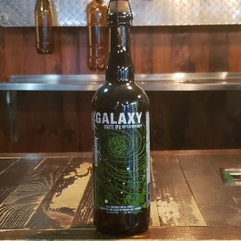 Anchorage Brewing Galaxy, White IPA, 7% ABV, 25 oz Bottle