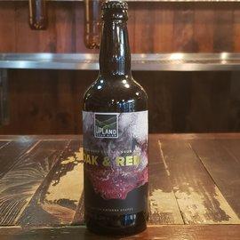 Upland Upland-Oak & Red, Fruited Sour Ale, 8% ABV, 500 ml Bottle