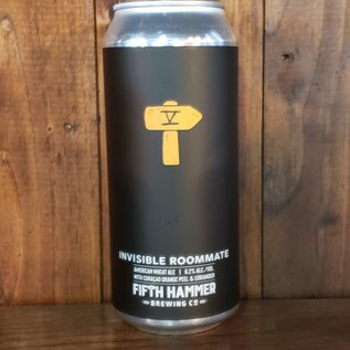 Fifth Hammer Brewing Invisible Roommate Wheat Ale, 6.2% ABV, 16oz Can