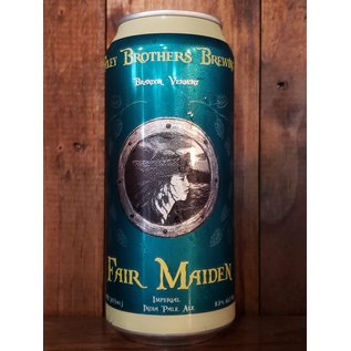 Foley Brothers Fair Maiden IIPA, 8.2% ABV, 16oz Can