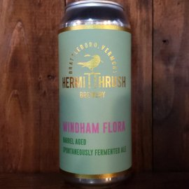 Hermit Thrush Brewery Windham Flora Sour Ale, 5.9% ABV, 16oz Can