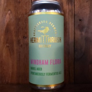 Hermit Thrush Windham Flora Sour Ale, 5.9% ABV, 16oz Can