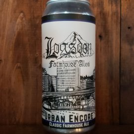 Logsdon Farmhouse Ales Urban Encore Farmhouse Ale, 5% ABV, 16oz Can