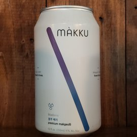 Makku Makku Blueberry, 6% ABV, 12oz Can