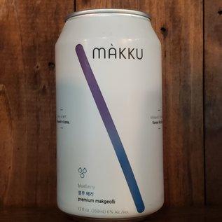Makku Makku Blueberry, 6% ABV, 12oz Can