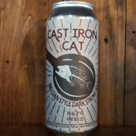 Paradox Brewery Cast Iron Cat Belgian Style Ale, 8% ABV, 16oz Can