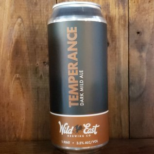 Wild East Brewing Co Temperance Mild Ale, 3.5% ABV, 16oz Can
