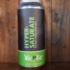 Wild East Brewing Co Hypersaturate DDH DIPA, 8% ABV, 16oz Can