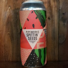 Pipeworks Brewing Company Spittin' Seeds Gose, 4.5% ABV, 16oz Can