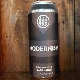 Schilling Beer Co. Modernism Dark Lager, 4.8% ABV, 16oz Can